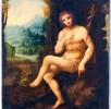 DONAZIONE ROSI – Anonimo del Sec. XVI da Leonardo Da Vinci, San Giovanni Battista in un paesaggio