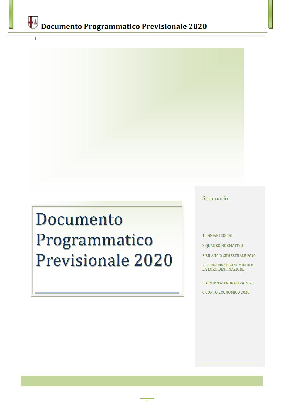 immagine bilancio 2020