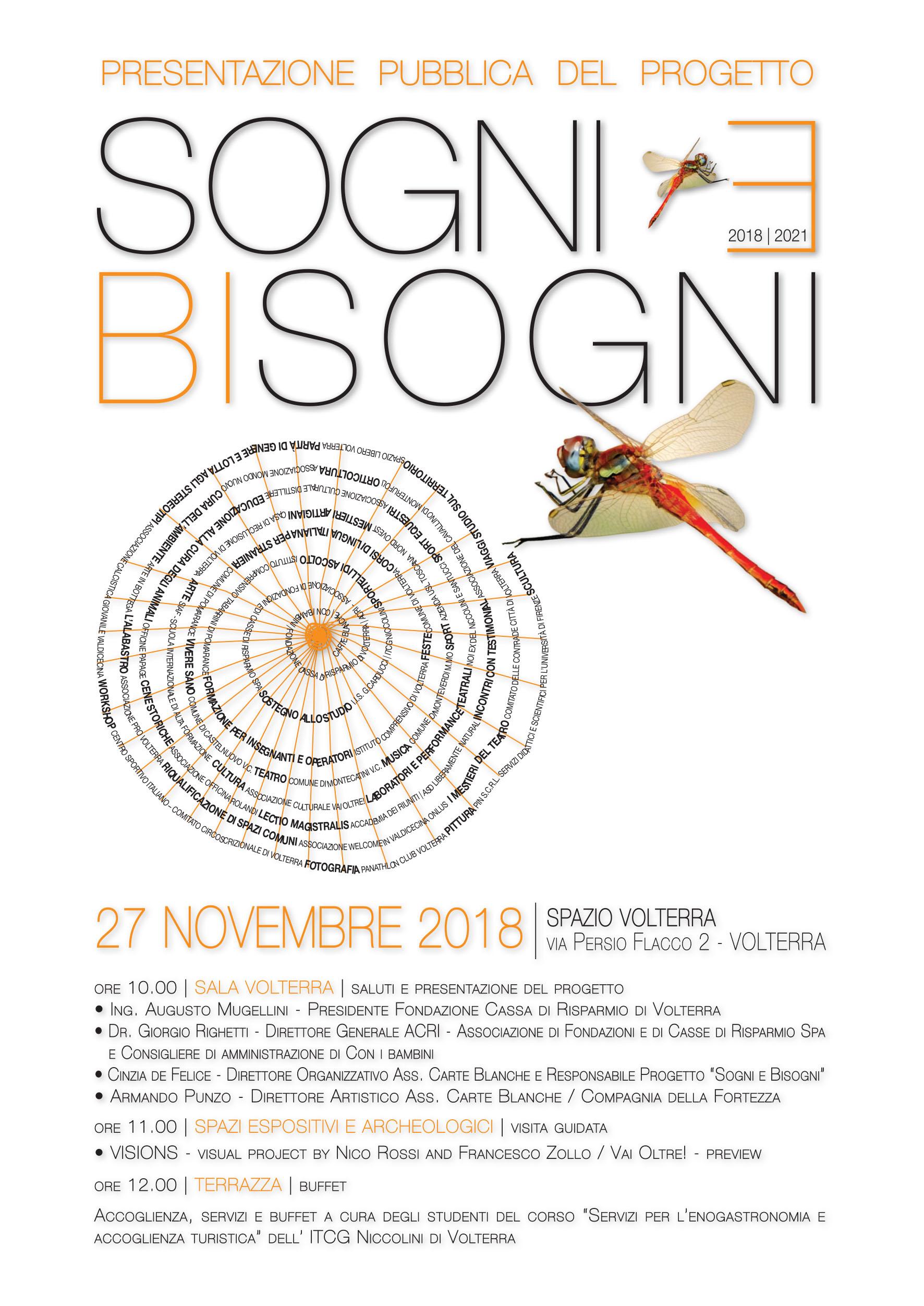 Volantino presentazione SOGNI E BISOGNI_DEFINITIVO.indd